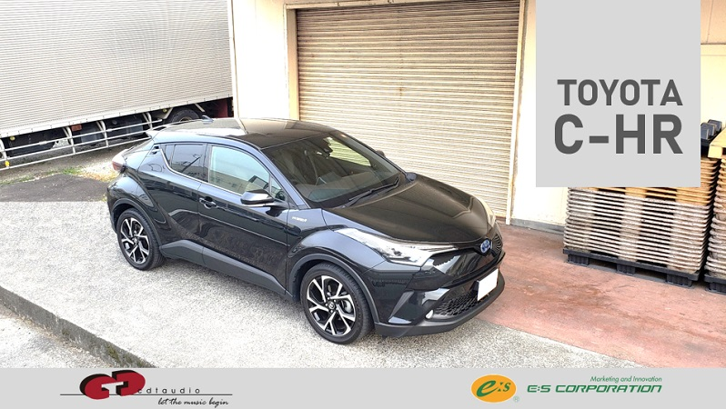 TOYOTA C-HR CDT AUDIO × μDiMENSiON