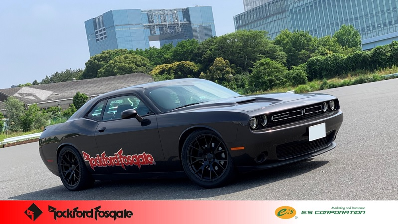 DODGE Challenger RockfordFosgate -NEW-